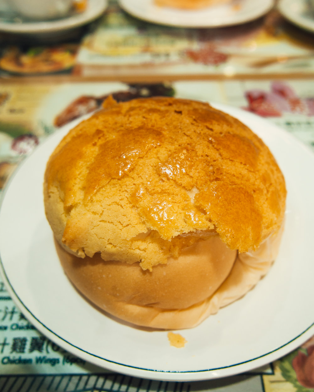Pineapple Bun in Hong Kong