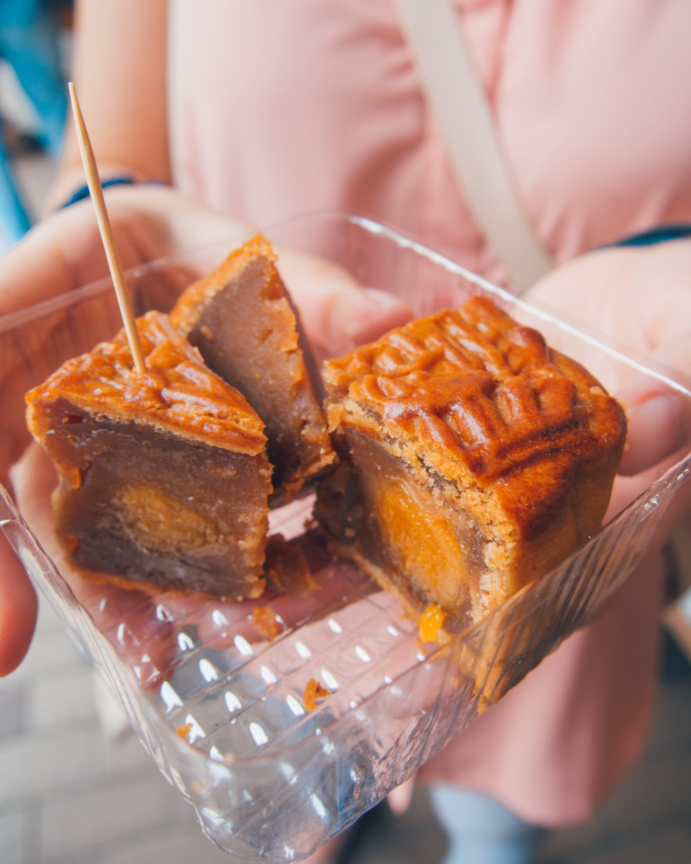 Moon cake in Hong Kong