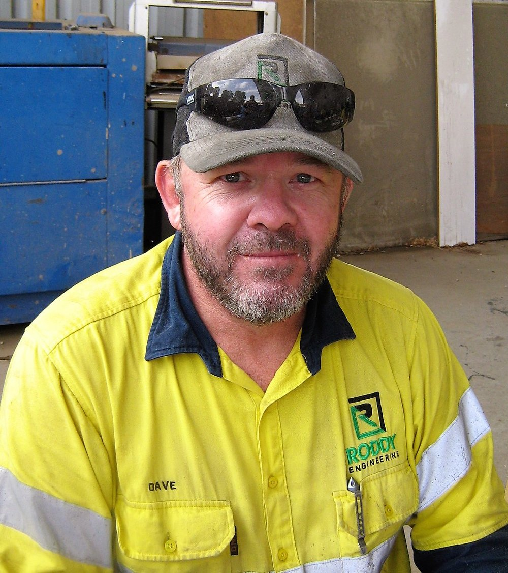 """DAVE BURNETT: - """"Going to Queensland for 5 weeks, I really enjoyed the work and the time spent there"""""""