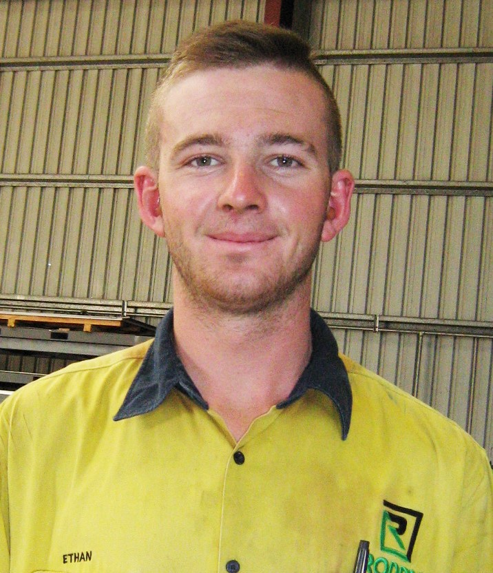 """ETHAN INGS: - """"My first year at TAFE is done and dusted, I passed with flying colours!"""""""