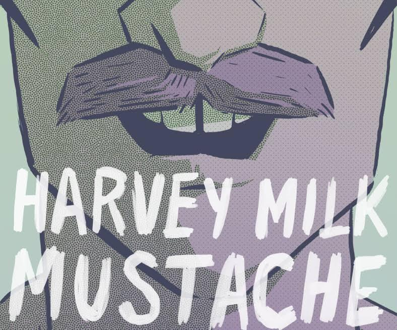 Harvey Milk Mustache