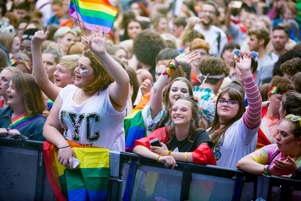 Celebrate - Enjoy one of the biggest FREE Pride festivals in the country.Accessible to all who want to come and be PROUD of who they are!
