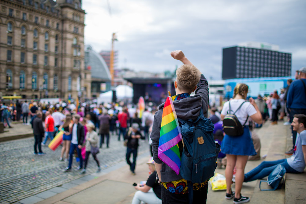 Embrace - Share with the entire Liverpool community - LGBTQ+ and beyond.All walks of life are invited to become part of this incredible celebration, and be open with one another in unity.