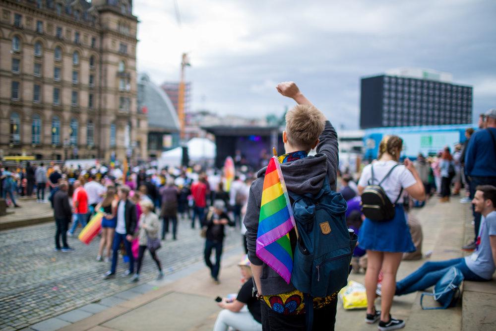 Liverpool Pride 2017, Solidarity