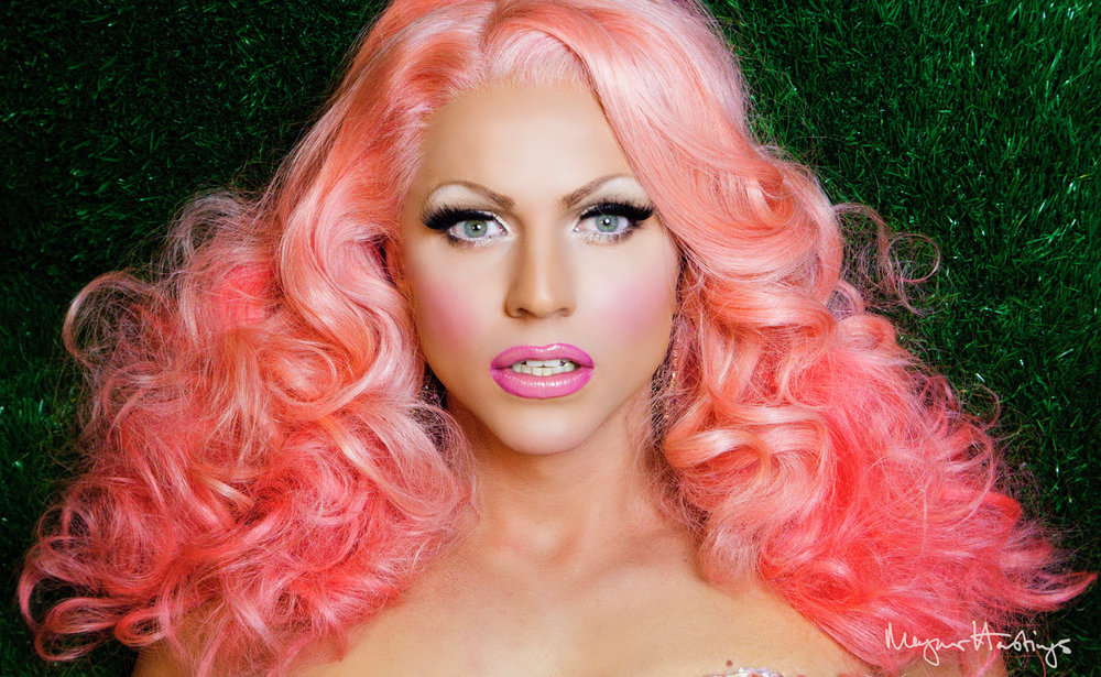 Courtney Act Pink of the Green by Magnus Hastings.jpeg