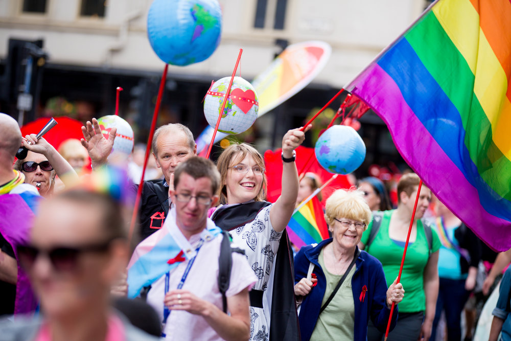 Protest - Be SEEN in the most colourful march the city has to offer at the start of Liverpool Pride.Join in celebration of diversity and equality through the city centre, passing so many iconic landmarks dressed in the rainbow!