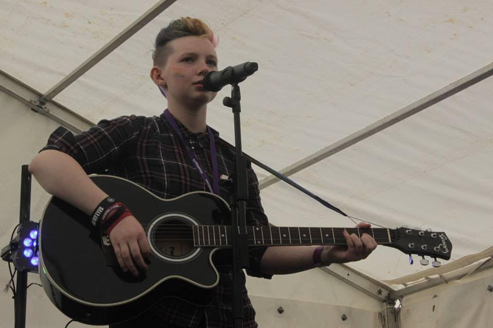 Jordan Leyland - Jordyn is a 17 year old transgender Singer/Songwriter from Warrington. Jordyn's music has an acoustic indie style to it, with some political themes and some ramblings about things I need to get off my chest.Jordyn's music can be found on facebook HERE