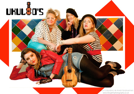 Ukuleighties - Formed out of a love for all things 80's, and in particularly 80's music, the Ukuleighties (pronounced: You Cool 80's) combine electro ukuleles, key tars, hand percussion & gritty harmonies with rad lead vocals shared amongst band members with excessive hairspray thrown into the mix.
