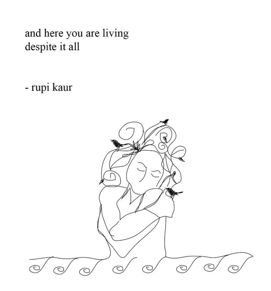 Rupi Kaur #quotes #inspiration #poetry #stories