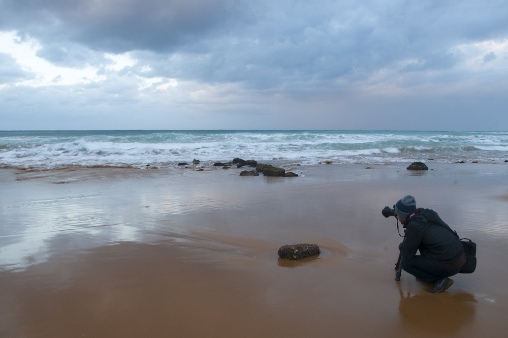 While shooting at Ramla Bay