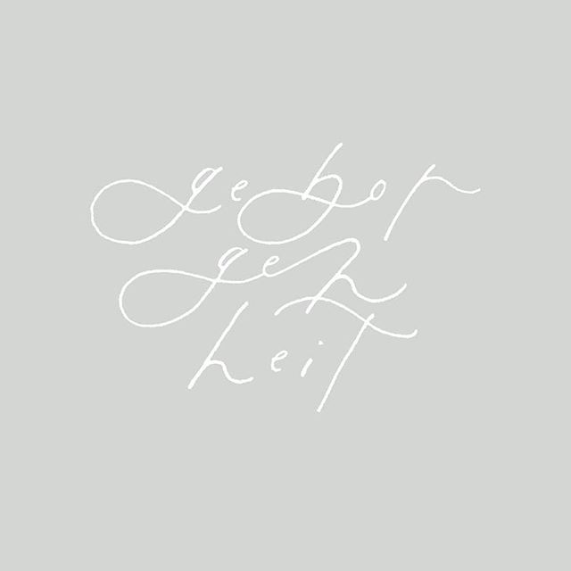 GEBORGENHEIT This was too good not to share! The wonderful @carole.lola is collecting lovely words and turning them into these whimsical lettering pieces. Check her out for more magical word studies! This word is my favourite word in the German language and its meaning dear to my heart. Have you got a favourite word like that? . . . *Original Caption* Today's word was suggested by @writingwellproject ! it's been described as perhaps the most idyllic word in the german language . geborgenheit • (n.) | german literally: a feeling of security / the word is used as a blanket of security which encompasses everything from protection, happiness, warmth, comfort, love, peace, and trust / for example, it might be used in reference to cherished moments snuggled up on the couch with your loved ones, knowing that everything is where it should be . . . #calligraphy #calligrapher #weddingcalligraphy #weddingcalligrapher #bayareacalligrapher #bayareacreative #creativelife #calledtocreate #christiancreative #writtenword #wordoftheday #intentionalliving #slowliving #pursuepretty #pursuewhatislovely #handlettering #handwritten #stationerydesigner #weddingpaper #customcalligraphy #abmlifeissweet #wholehearted #creativeentrepreneur #girlboss #makersmovement #carolelolawords #carolelola
