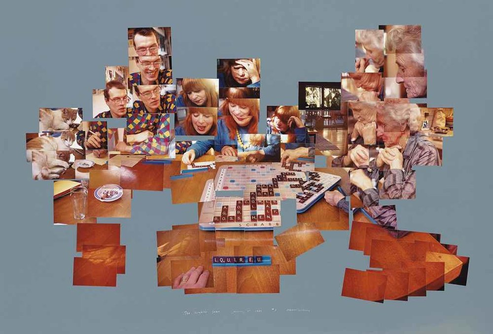 David Hockney, The scrabble game - The movement and the content that is addressed here something that I strive for in my work.