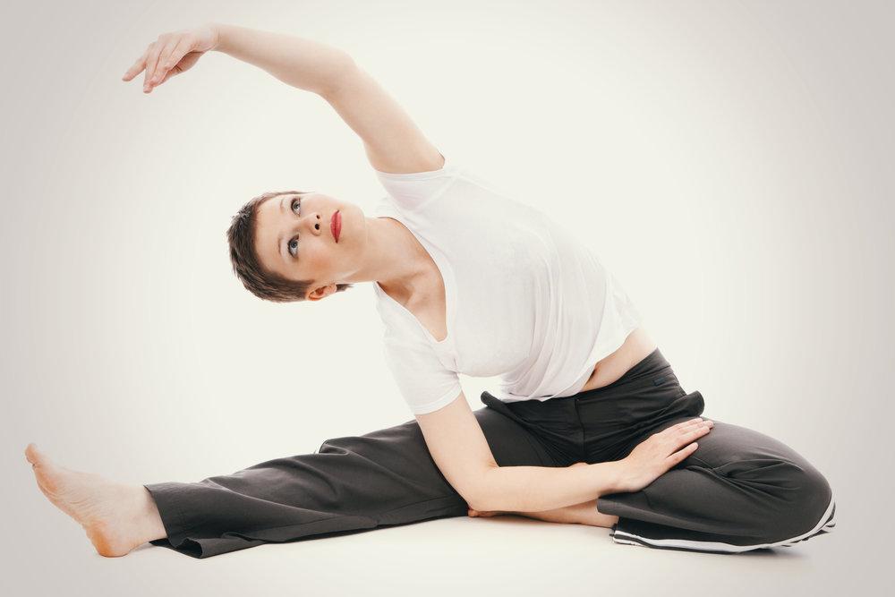 Yoga als Ergänzung zum Fasten.