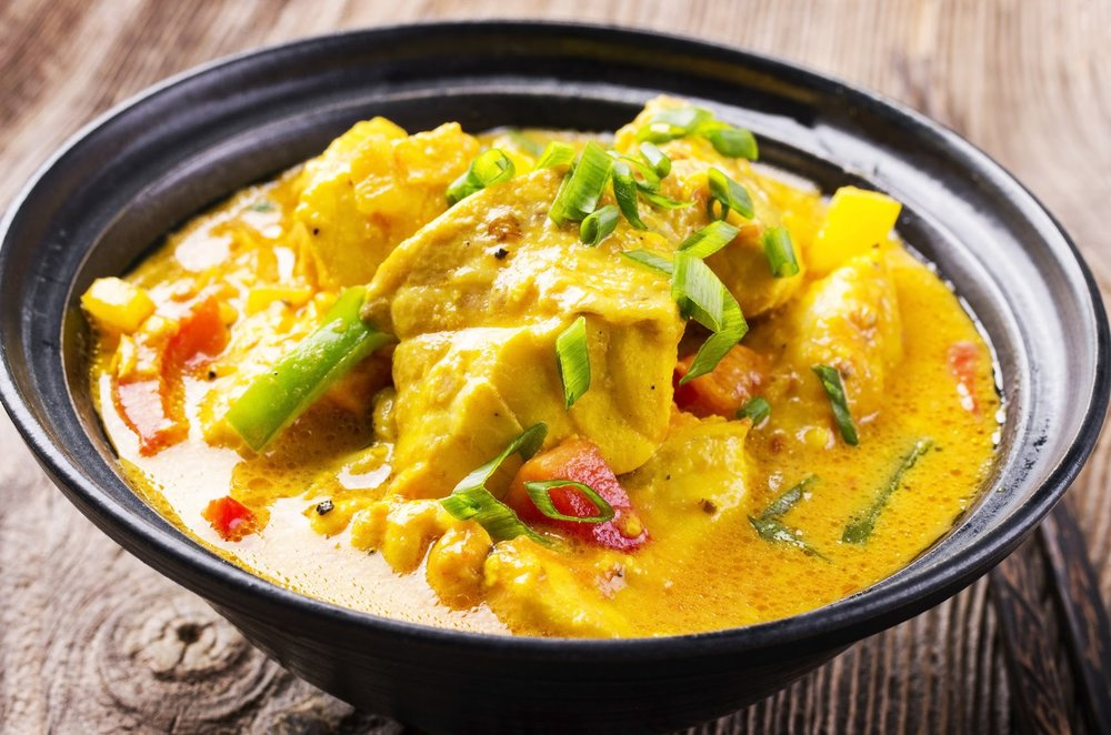 Indian and Thai  Convenience food -