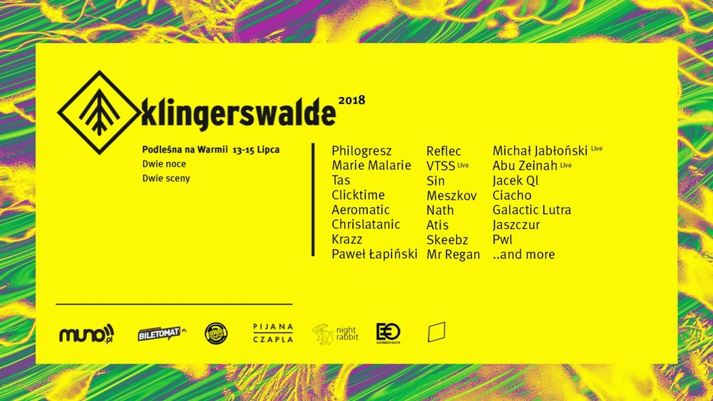 MARIE MALARIE  - playing somewhere in the middle of polish forest for  Klingerswalde 2018  festival