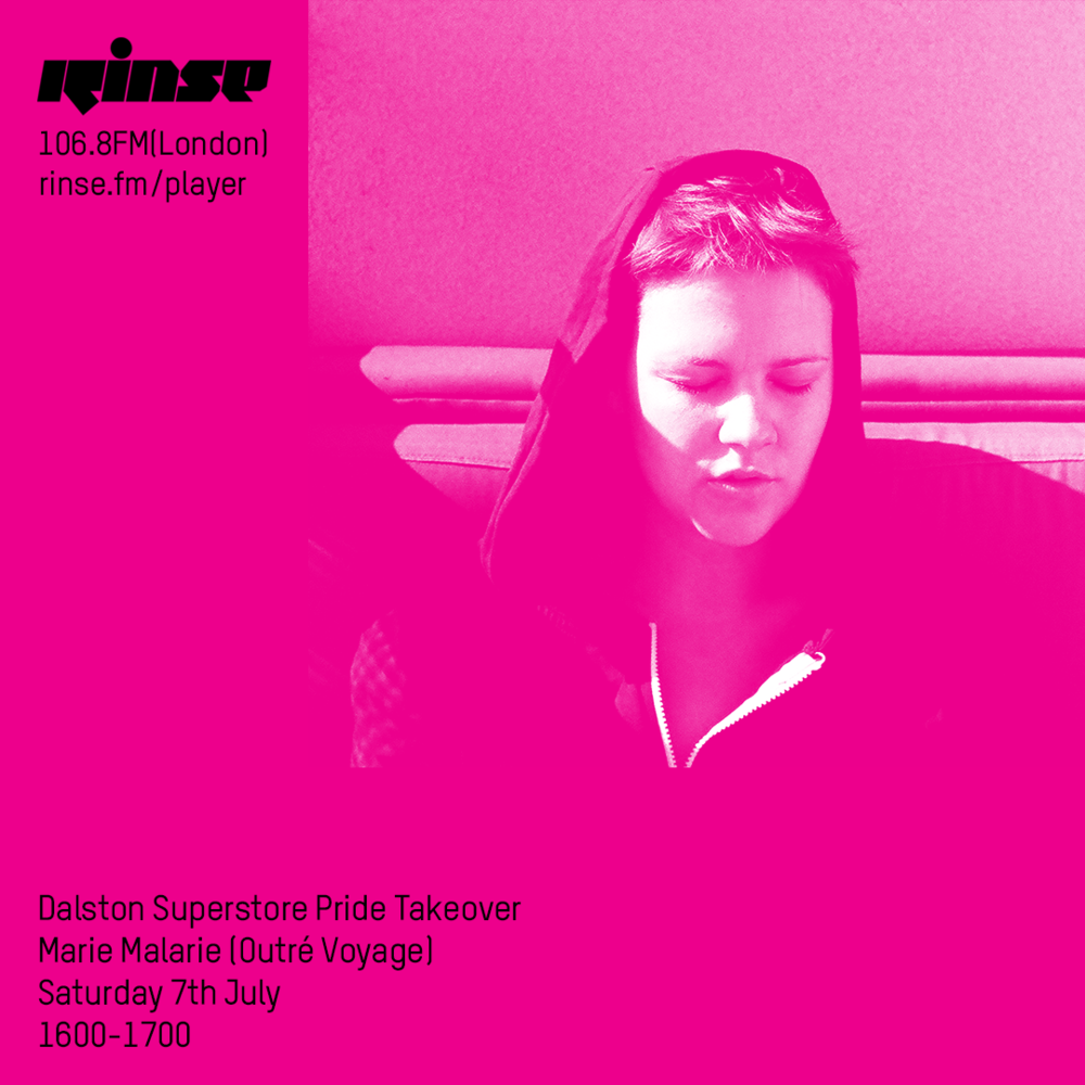 MARIE MALARIE   live set at  RINSE FM