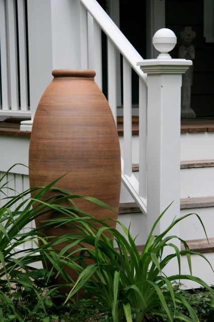 Narrow jar at porch close.jpg