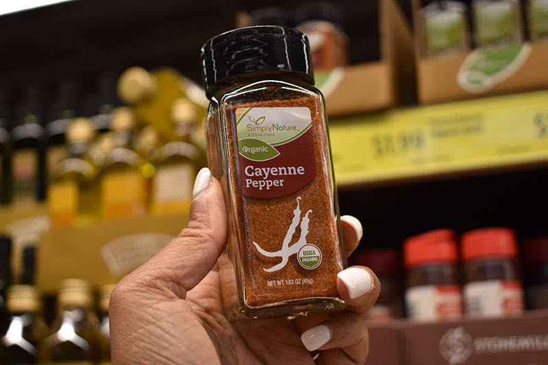 Simply Nature Cayenne Seasoning