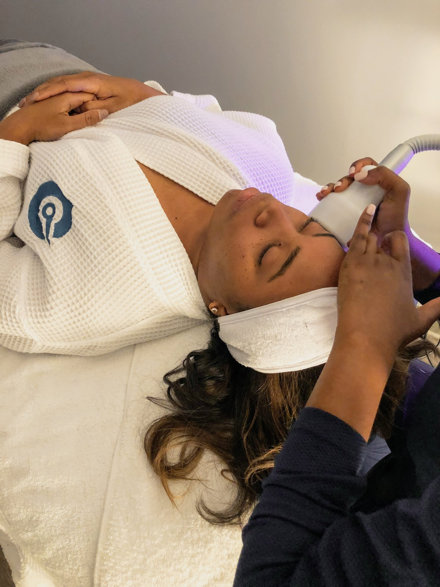 My first cryo facial experience — After Sunday Dinner