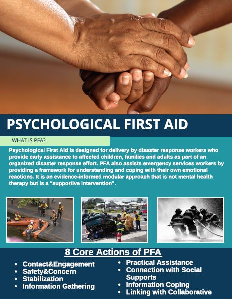 Psychological First Aid Information