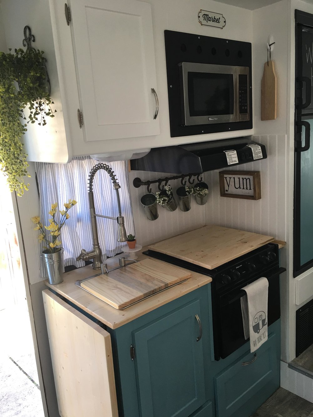 custom kitchen cabinets and counter in an rv.jpg