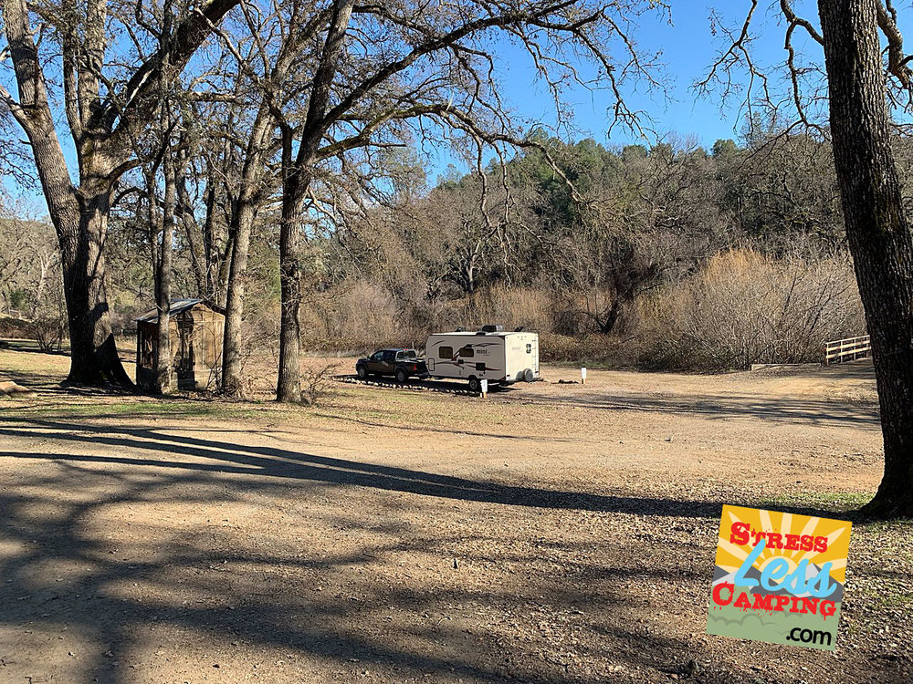 Our beautiful campsite at the 4,000+ acre Six Sigma winery and ranch in picturesque Lake County, CA
