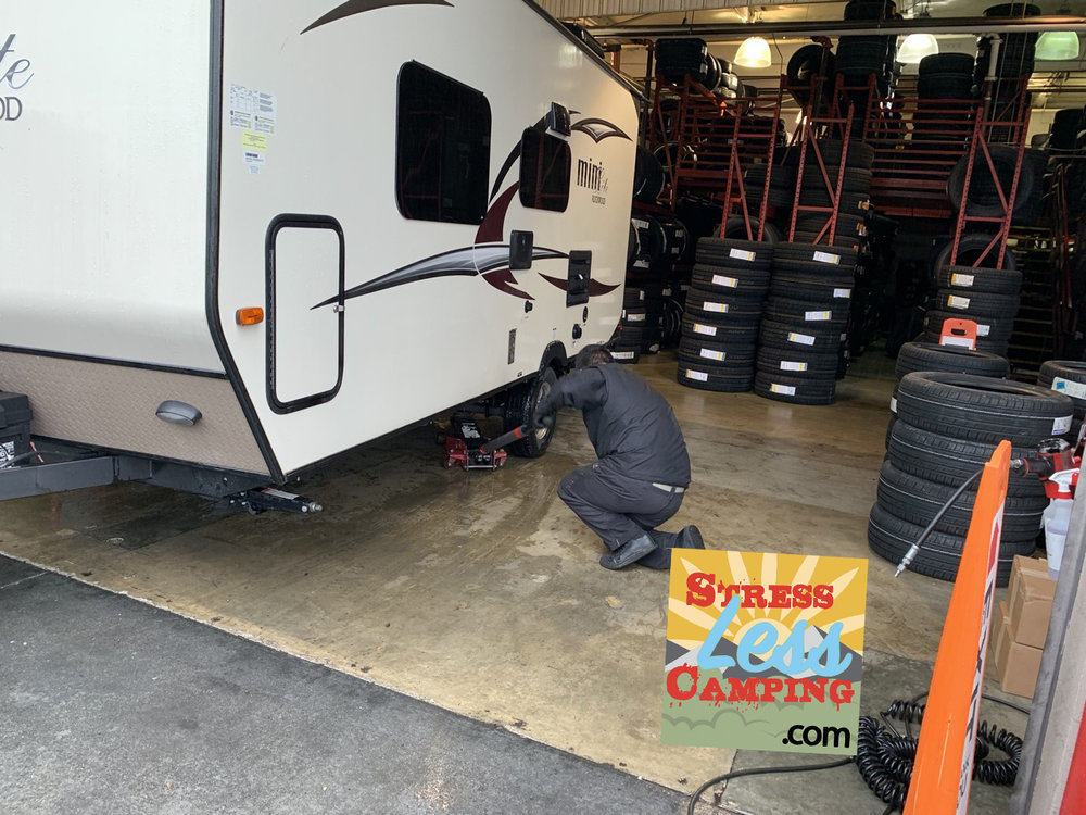 Knowing our RV means we replaced the tires before they became deadly.