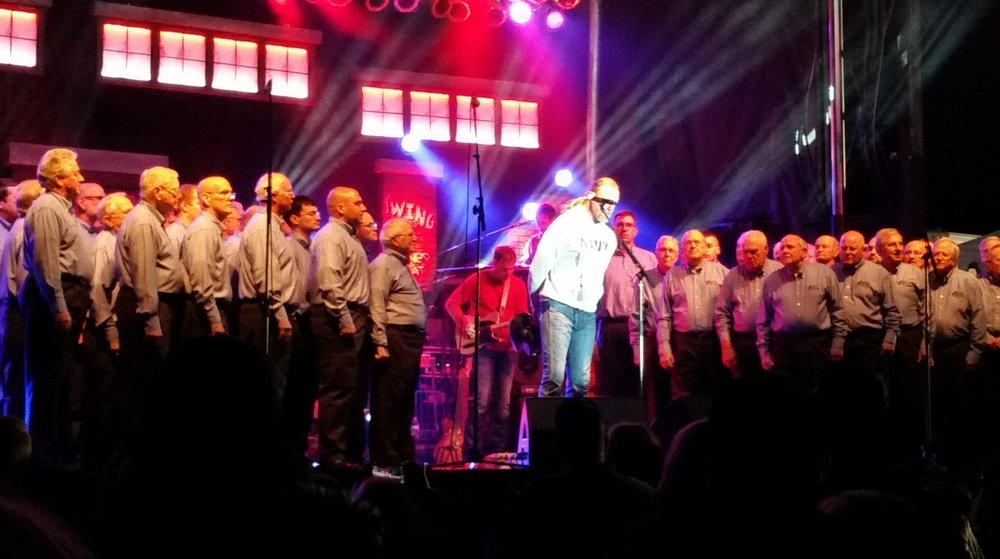 Trace Adkins Concert for Military Personnel, 2015