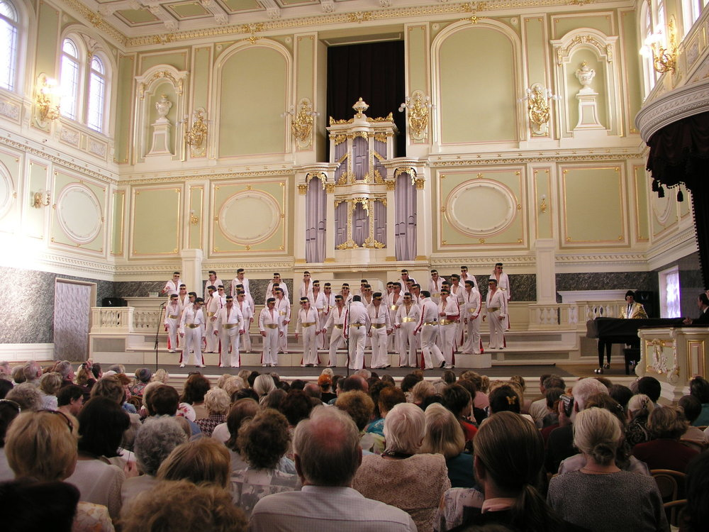 Trip to Russia and Concert in St. Petersburg, 2006