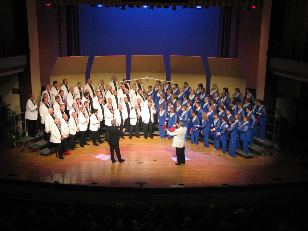 The Virginians and The Greater Richmond Chorus Christmas Show, 2007