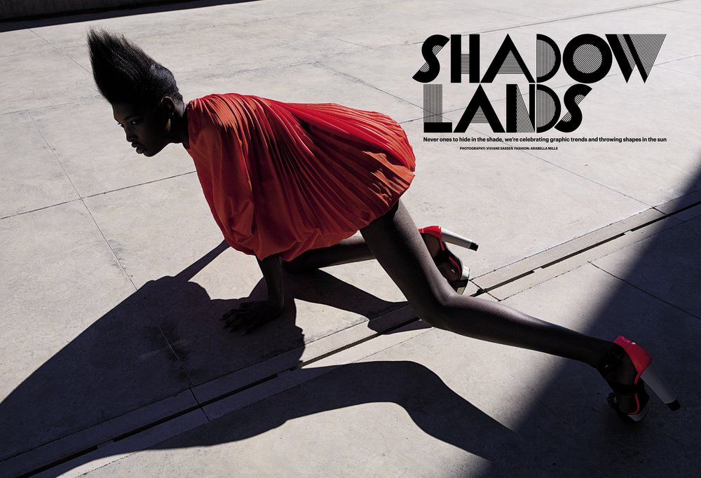 WALLPAPER - Viviane Sassen - SHADOW LANDS 1