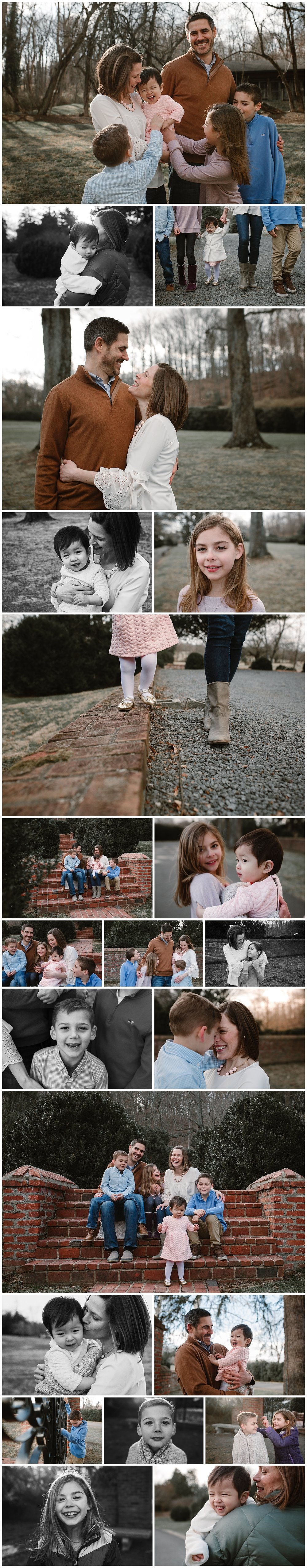 Leesburg, Virginia Adoption Family Photography