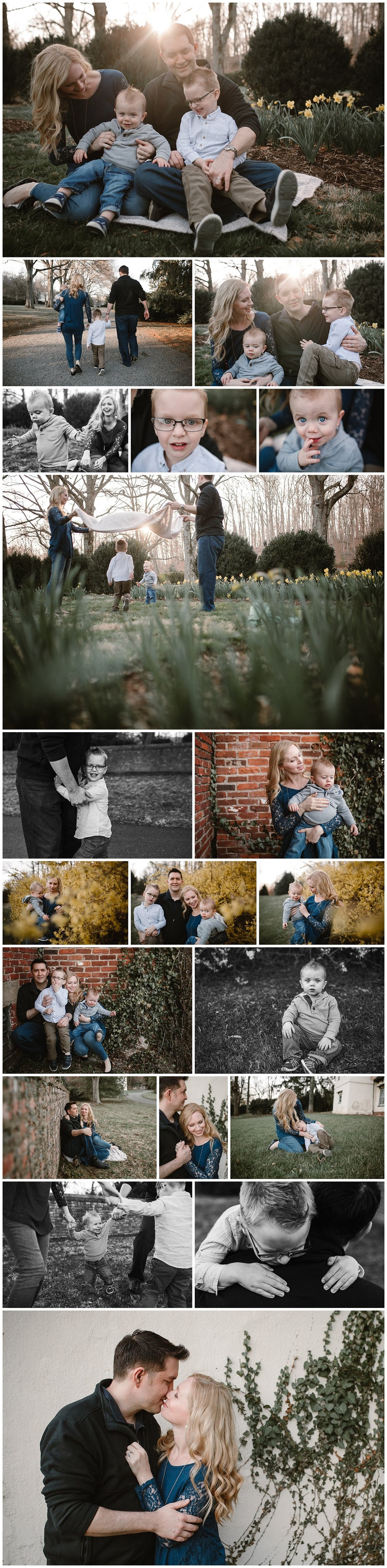 Morven Park Leesburg Virginia family photography brothers