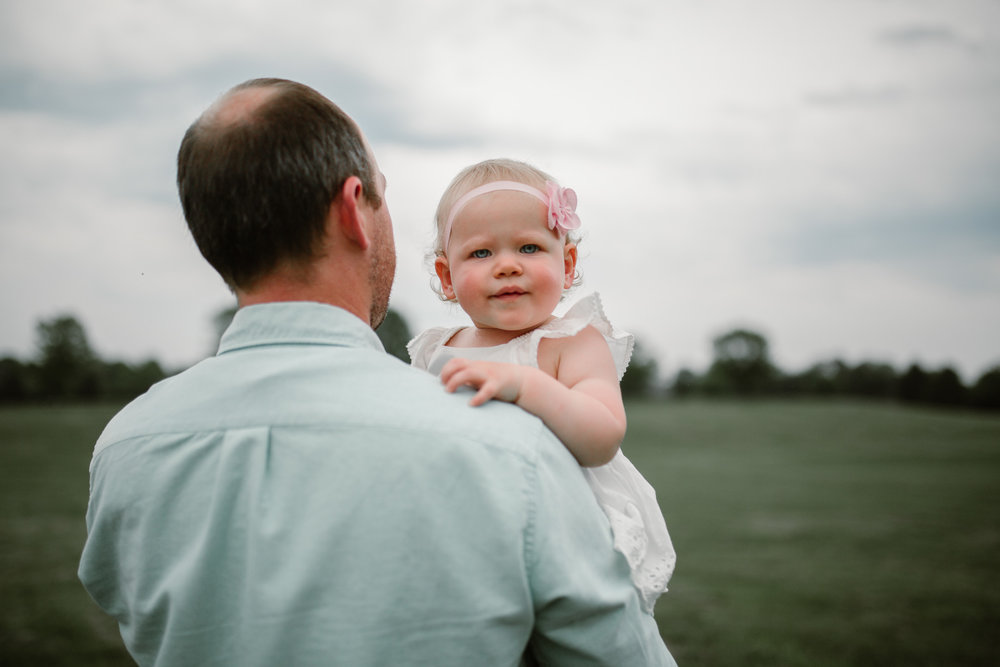 Father and Daughter at Ida Lee Park Family Photography Leesburg Virginia