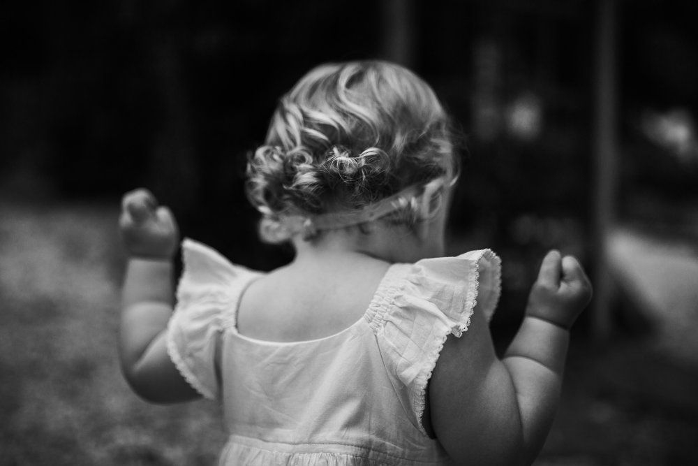 Toddler curls Ida Lee Park Family Photography Leesburg Virginia