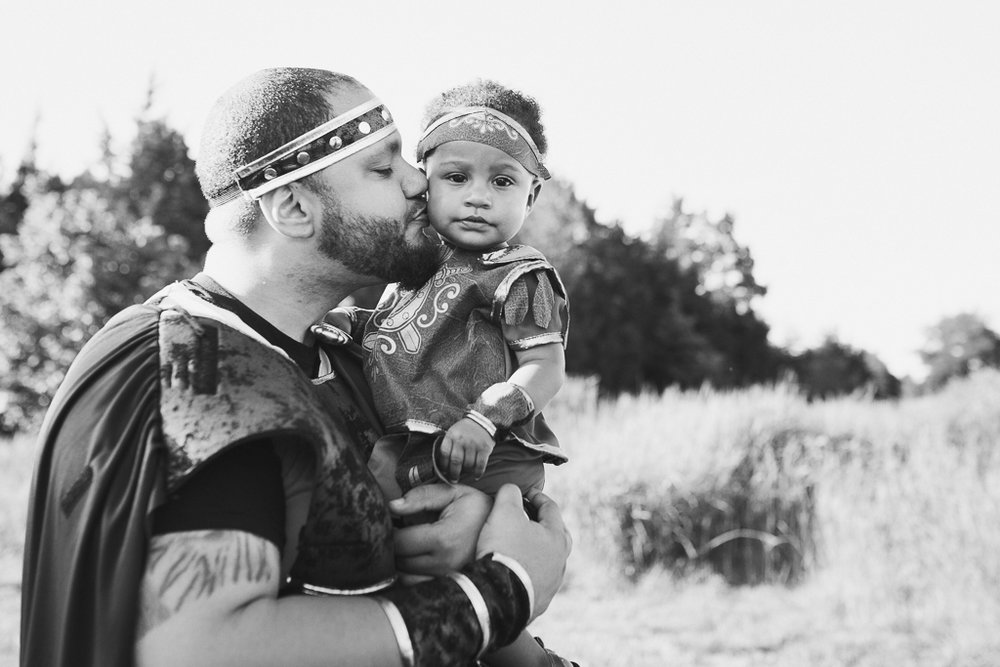 black and white father daughter kiss lifestyle family photography fighter warrior Beaverdam Run Ashburn Virginia Loudoun County Marti Austin Photography TGHP The Gold Hope Project