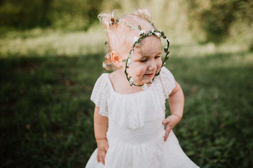 toddler portrait flower crown family lifestyle photography Marti Austin Photography Rust Nature Sanctuary Leesburg Loudoun Virginia