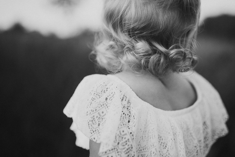 black and white toddler curls hair family lifestyle photography Marti Austin Photography Rust Nature Sanctuary Leesburg Loudoun Virginia