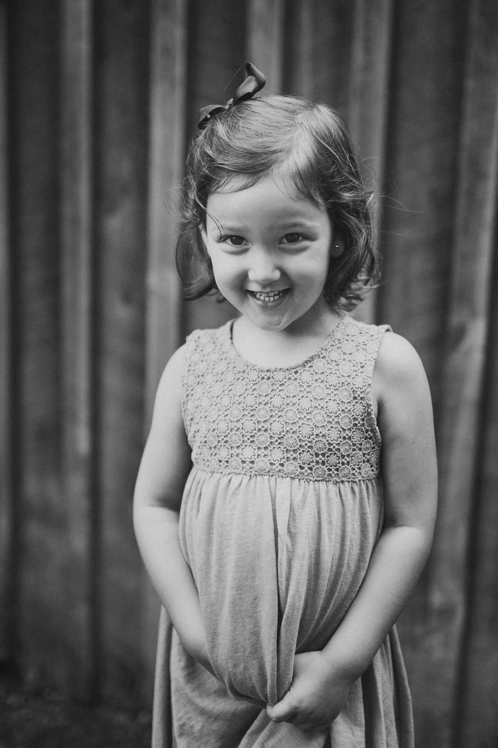 Black and white childhood girl portrait Claude Moore Park Heritage Farm Museum Sterling Virginia Lifestyle Documentary Fall Family Marti Austin Photography