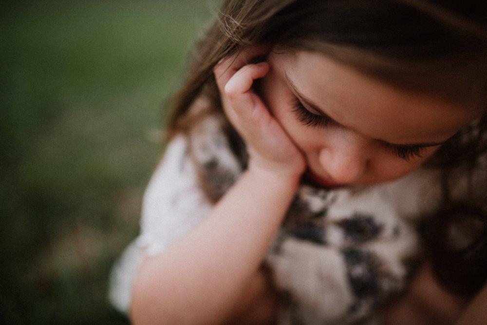 portrait Toddler Girl Ashburn Virginia Lifestyle Documentary Family Marti Austin Photography