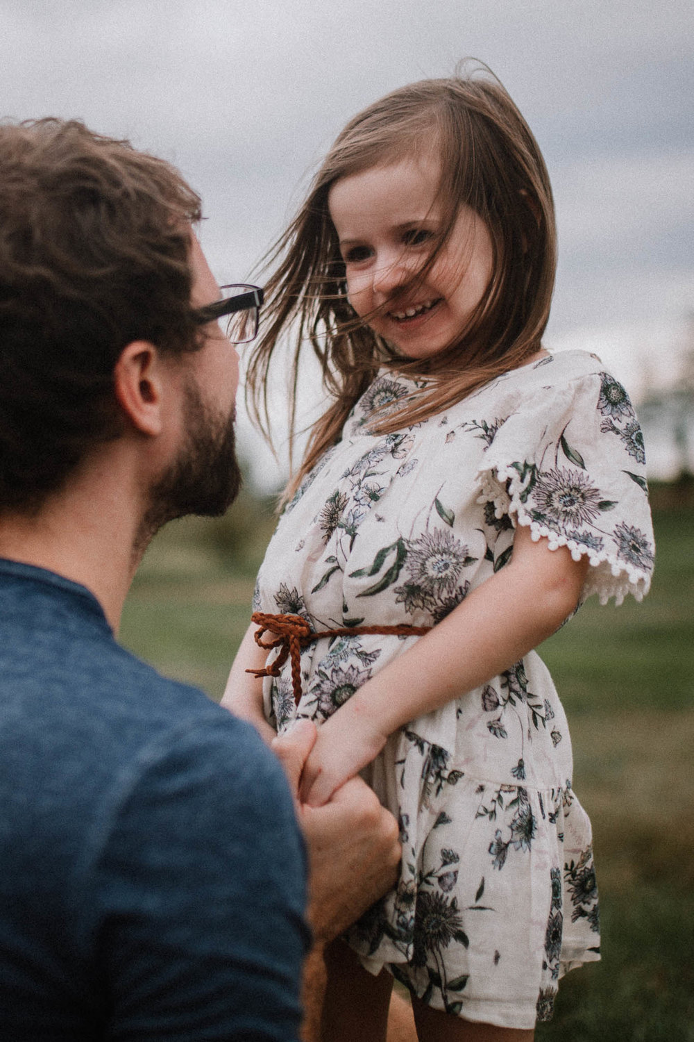 father daughter holding hands Toddler Girl Ashburn Virginia Lifestyle Documentary Family Marti Austin Photography