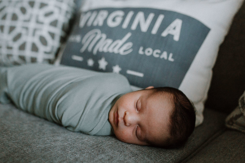newborn baby boy Virginia made Ashburn Virginia Lifestyle Loudoun Documentary Family Marti Austin Photography
