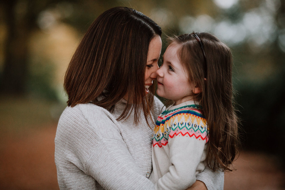 mother daughter laugh family fall autumn lifestyle documentary Morven Park Leesburg Loudoun Virginia Marti Austin Photography