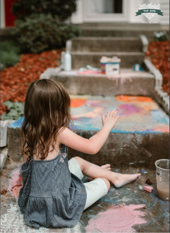 chalk colorful painting lifestyle documentary ashburn loudoun virginia shoot and share contest Marti Austin Photography