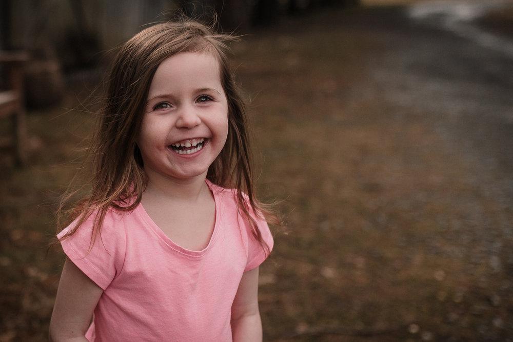 girl portrait laugh smile pink Claude Moore Park lifestyle documentary family Ashburn Loudoun northern Virginia  childhood Marti Austin Photography