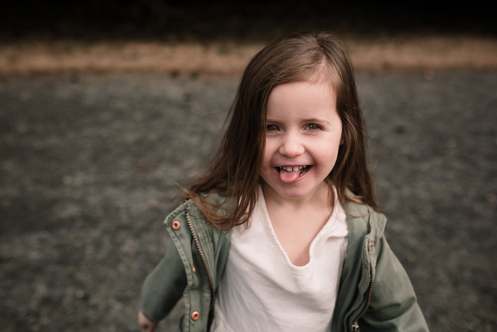 girl sticking out tongue laughiing Morven Park Leesburg lifestyle documentary family Ashburn Loudoun northern Virginia  childhood Marti Austin Photography
