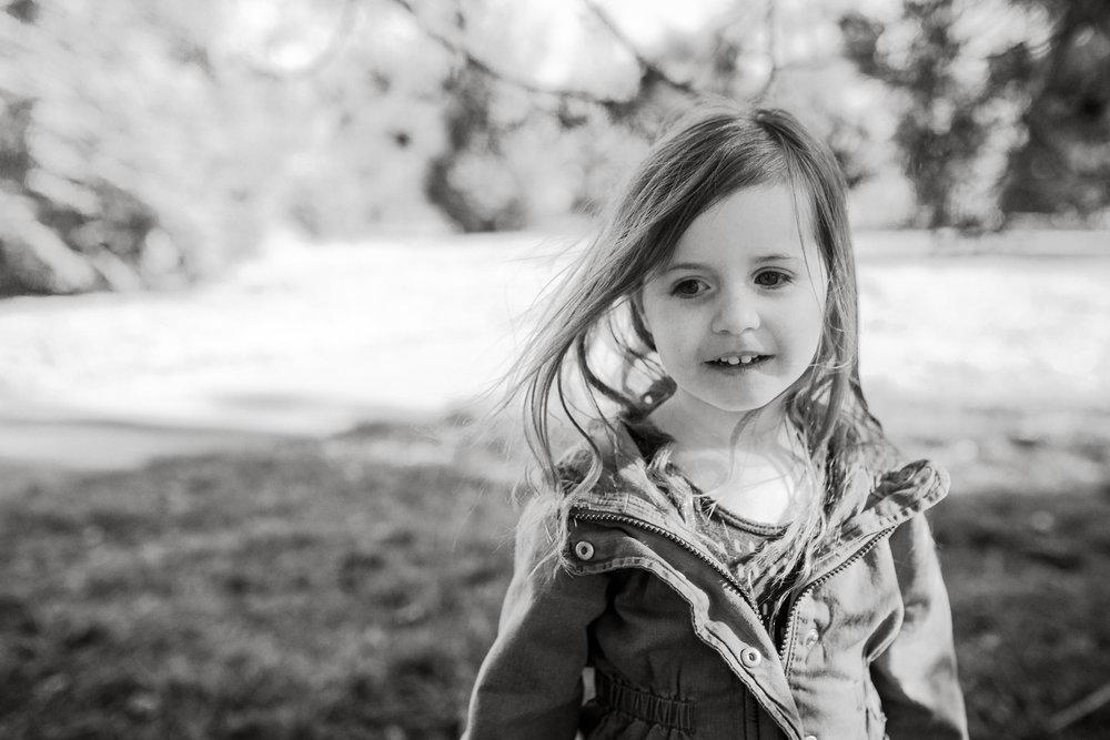 black and white girl portrait lifestyle documentary family Ashburn Loudoun northern Virginia  childhood Marti Austin Photography