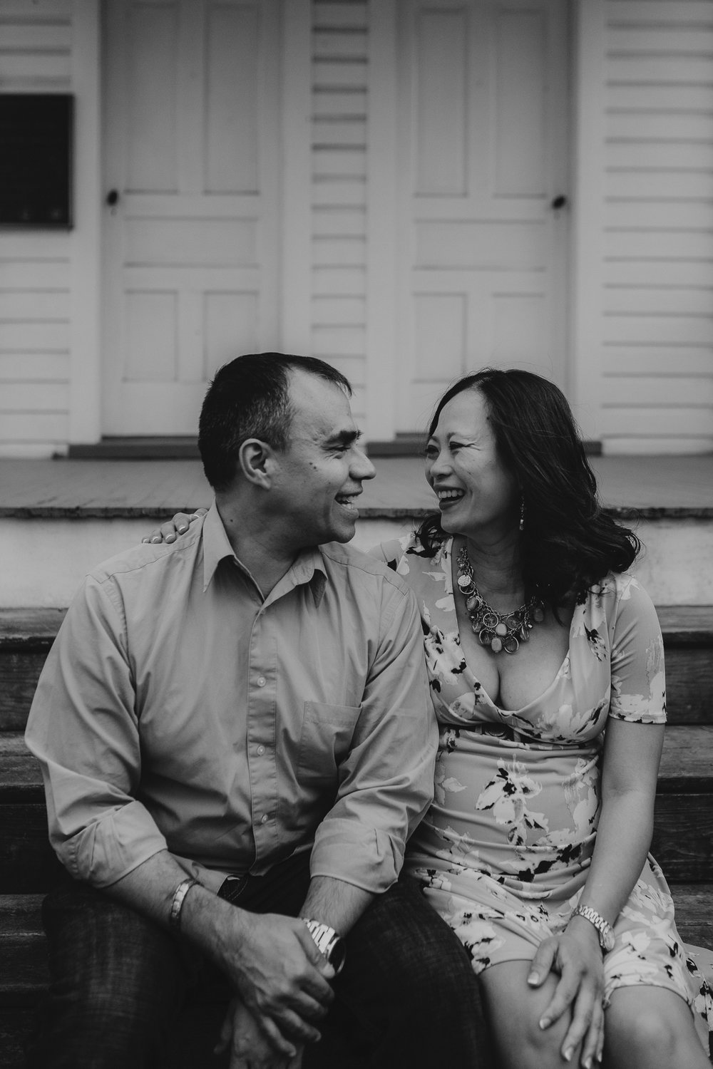 black and white couple husband wife mother father pregnancy maternity lifestyle documentary family Claude Moore Park Heritage Farm Museum Sterling Loudoun Virginia Marti Austin Photography