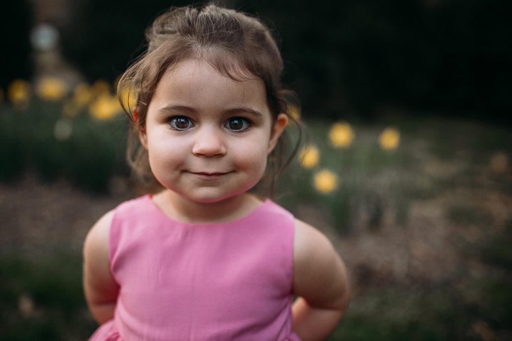 toddler girl portrait family maternity lifestyle documentary Morven Park Leesburg Loudoun Virginia Spring Golden Hour Sunset Marti Austin Photography