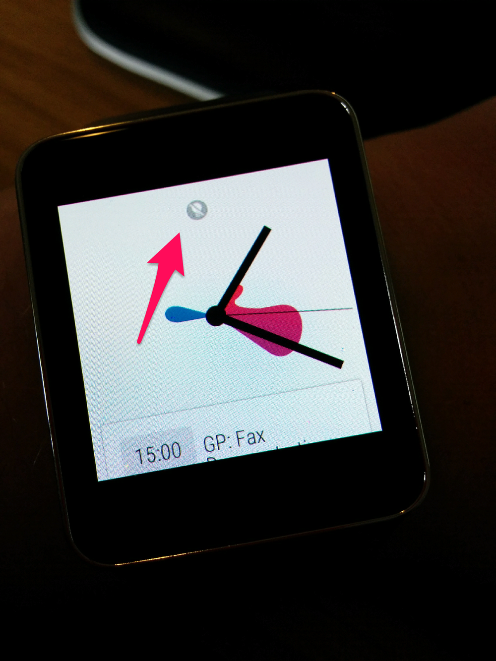 What Does The Crossed Out Light Bulb Icon Mean On Android Wear
